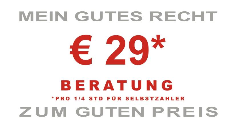 € 19* BERATUNG *PRO 1/4 STD FÜR SELBSTZAHLER