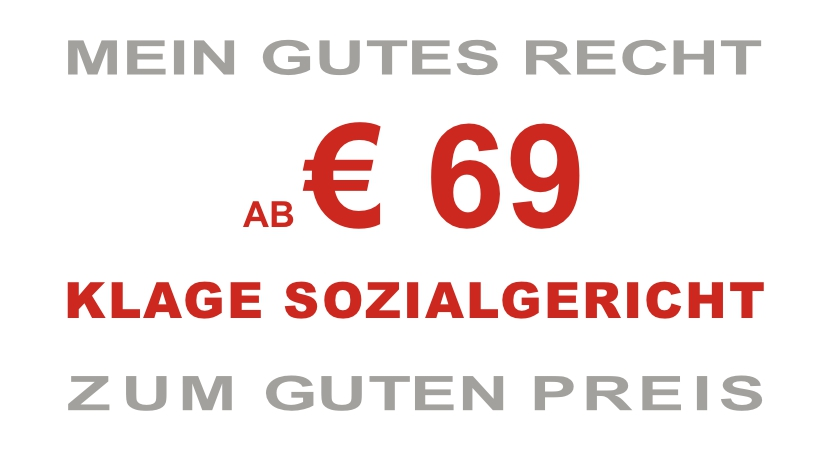 AB € 69 KLAGE SOZIALGERICHT