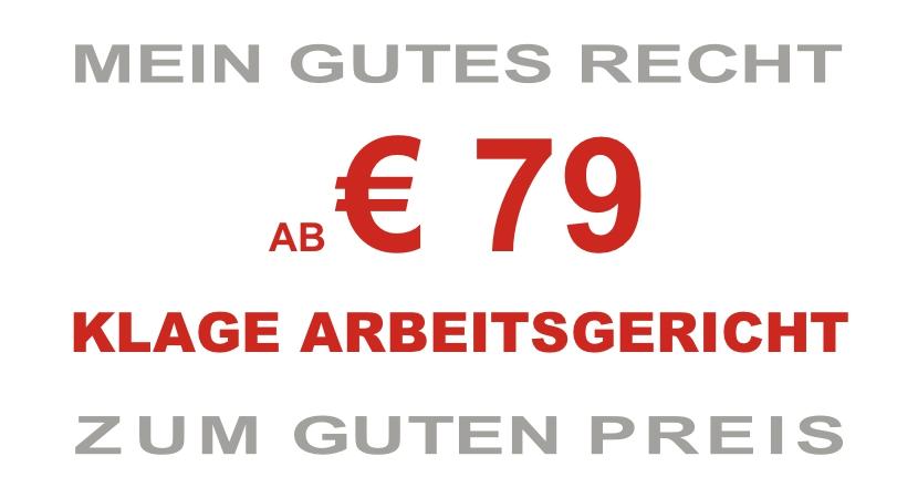 AB € 79 KLAGE ARBEITSGERICHT